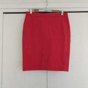 Ann Taylor Red Skirt -8P NWT